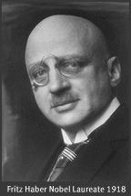 Fritz Haber's Nobel portrait