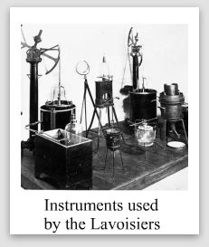 Lab Instruments Used by Lavoisier