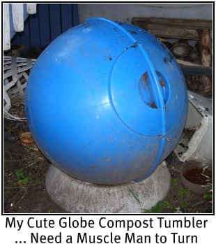 Cute Globe tumbler is hard to turn