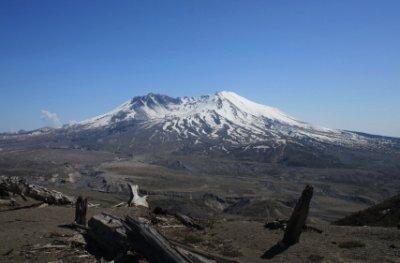 Mount St Helens blast zone