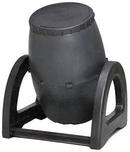 The 100% recycled UCT-9 Urban Compost Tumbler